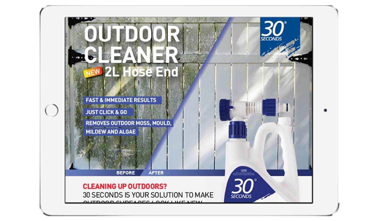 30 Seconds Outdoor Cleaner